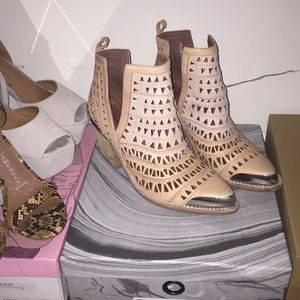 Jeffery Campbell booties from LF